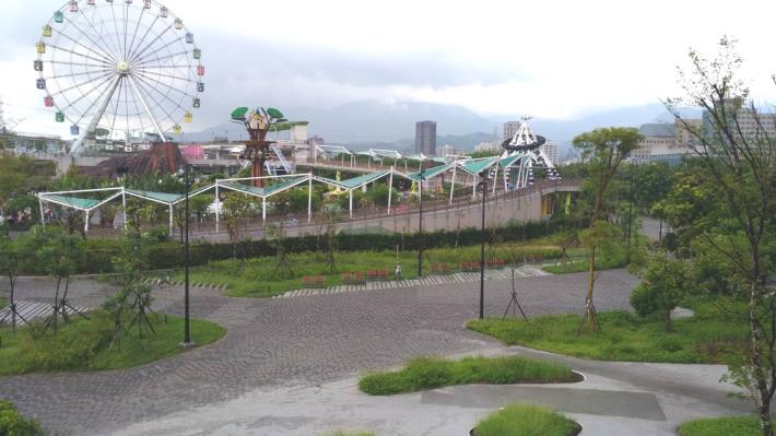 圖5「兒童新樂園南側縫合」完工照片