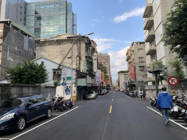 圖6 合江街(興安街至民權東路3段)施工後照片