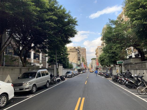 圖4 合江街(興安街至民權東路3段)施工後照片
