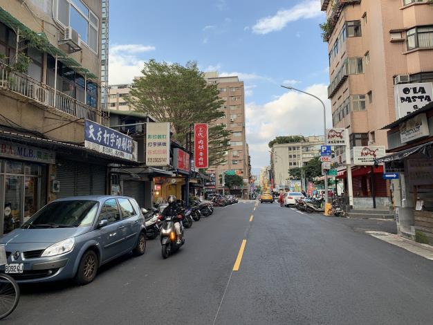 圖7 合江街(興安街至民權東路3段)施工後照片