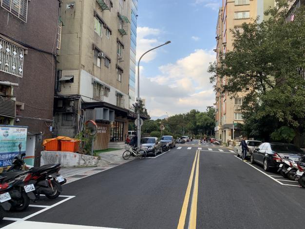圖8 合江街(興安街至民權東路3段)施工後照片