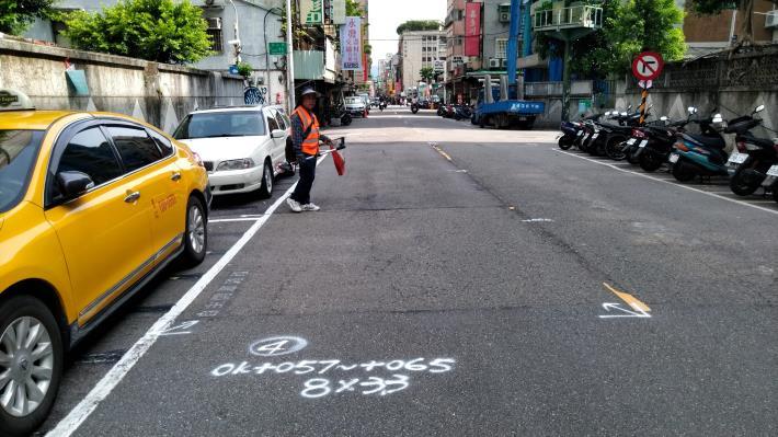 圖5 合江街(興安街至民權東路3段)施工前照片