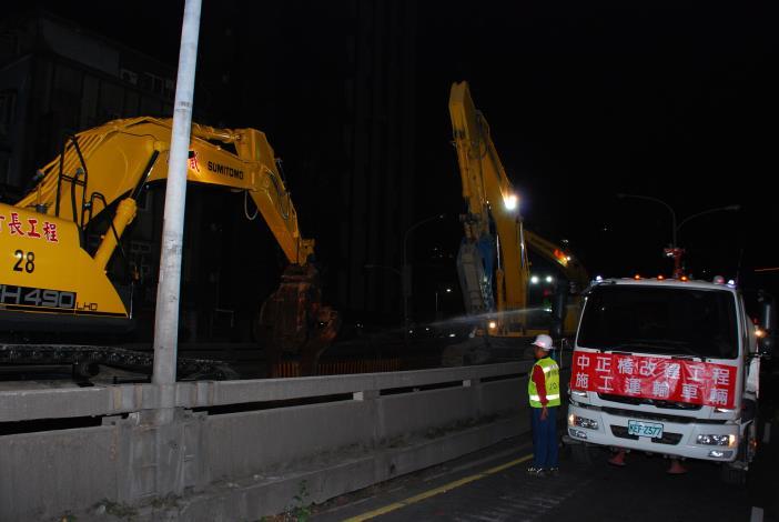 圖7重慶南路高架橋開始拆除.JPG