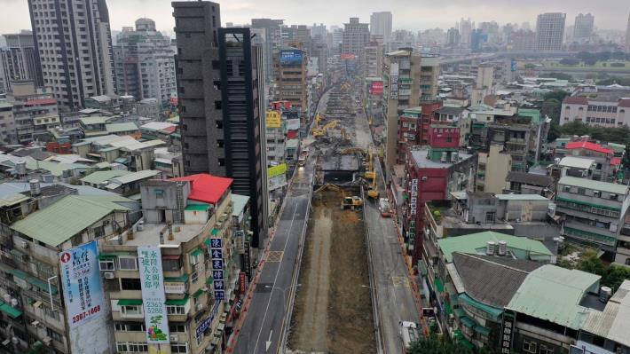 圖7中正橋引道重慶南路高架橋拆除現況-5