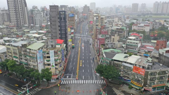 圖1重慶南路-和平西路空拍照片1