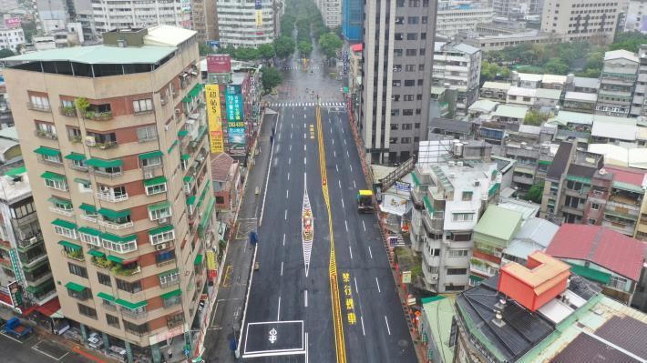 圖2重慶南路-和平西路口空拍照片2