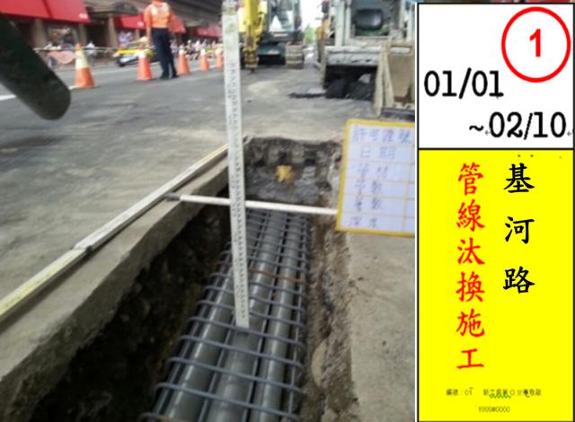 圖1 第1階段 管線汰換更新