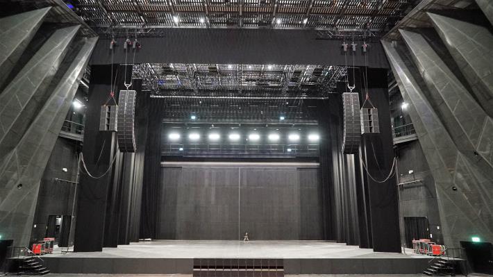 圖6北基地主廳館舞台區照片