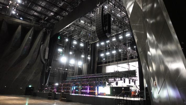 圖5北基地主廳館舞台區照片