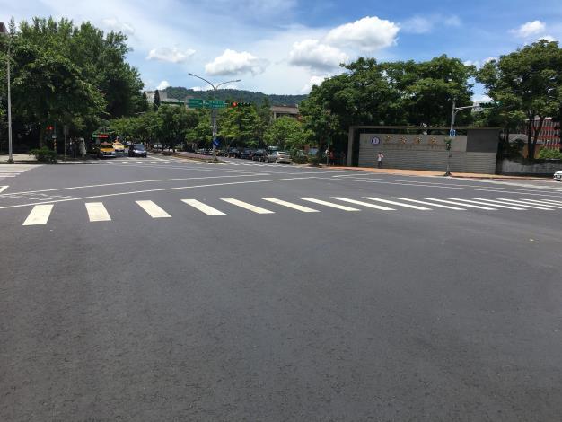 圖2 研究院路二段完工照片