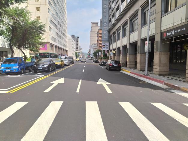 圖7吉林路(南京東路至錦州街口)施工後照片-3