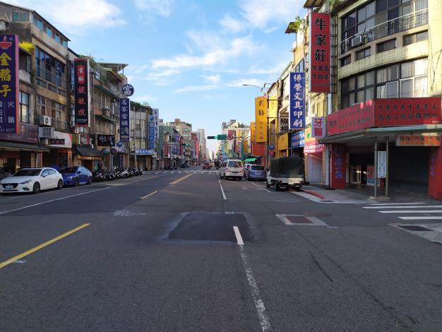 圖4吉林路(南京東路至錦州街口)施工前照片-2