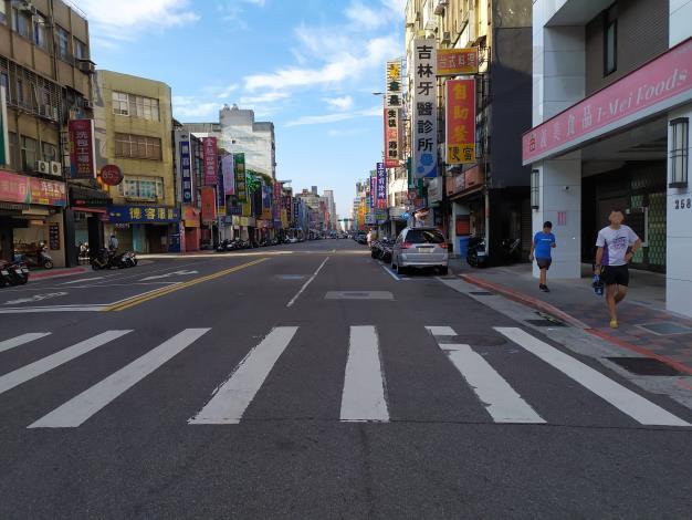 圖2吉林路(南京東路至錦州街口)施工前照片-1