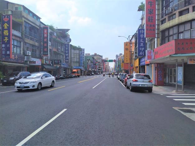 圖5吉林路(南京東路至錦州街口)施工後照片-2
