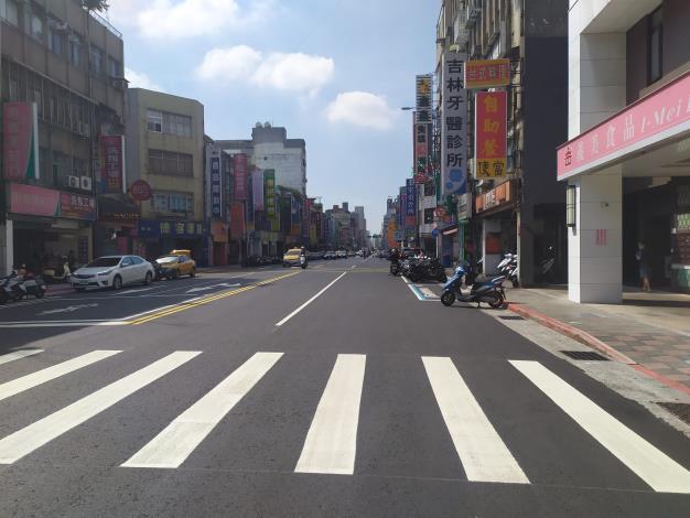 圖3吉林路(南京東路至錦州街口) 施工後照片-1