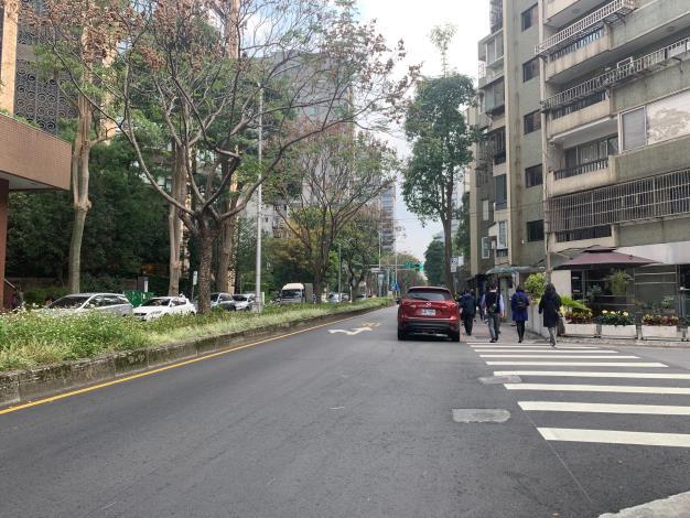 圖5 慶城街(民生東路3段至南京東路3段)施工後照片2