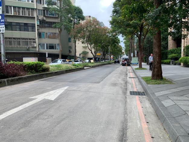 圖6 慶城街(民生東路3段至南京東路3段)施工前照片3