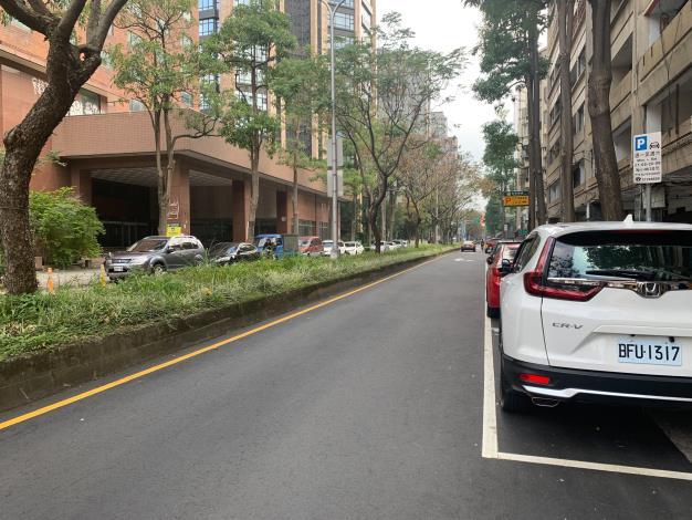 圖3 慶城街(民生東路3段至南京東路3段)施工後照片1