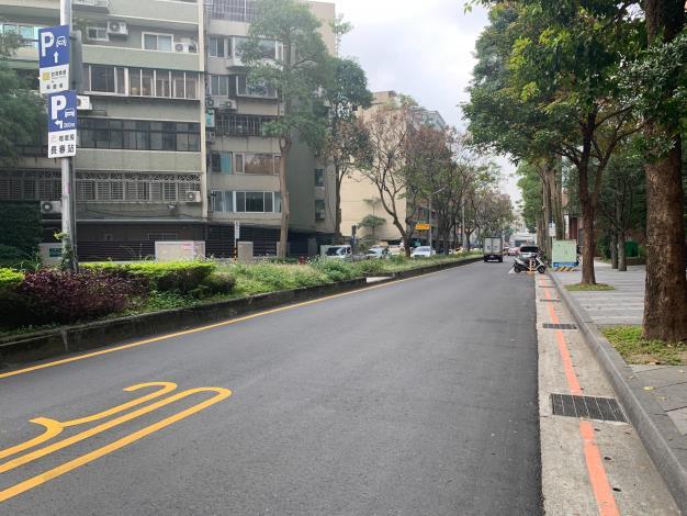 圖7 慶城街(民生東路3段至南京東路3段)施工後照片3