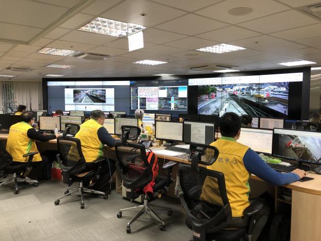 圖2 道管中心即時監控道路施工
