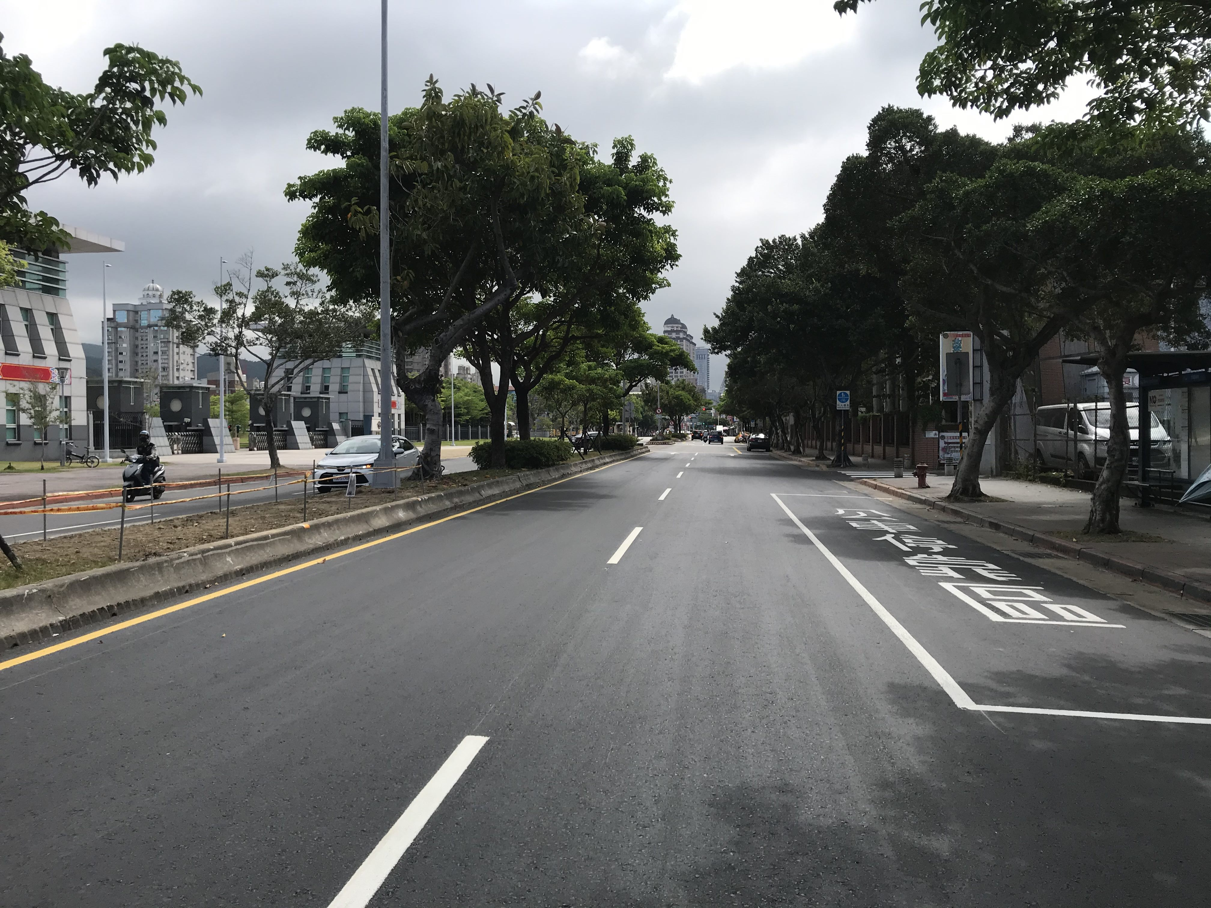 圖7北安路雙號側(通北街口至崇實路口)施工後照片-3