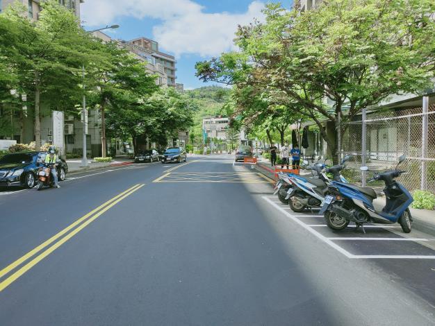 圖3 敬業一路(樂群二路至敬業二路)施工後照片-1