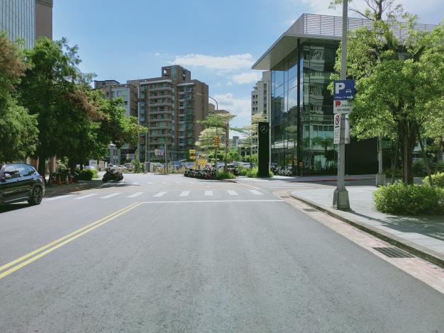 圖5 敬業一路(樂群二路至敬業二路)施工後照片-2