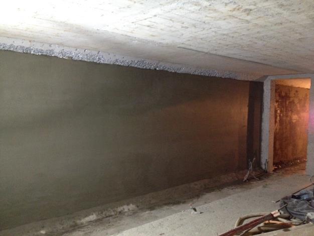 10711BL-227人員出入口內牆粉刷