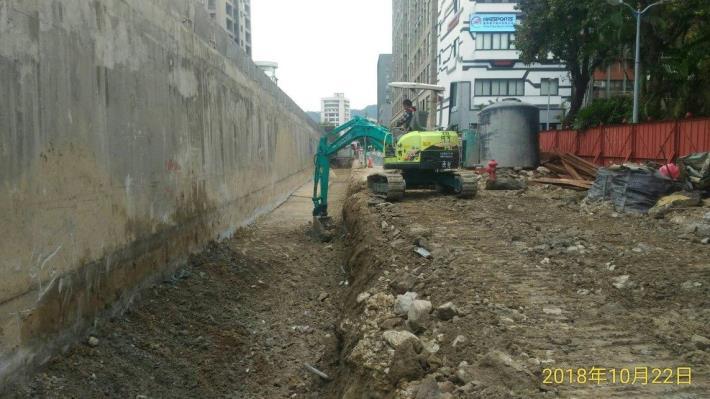 10710-南港端西側擋土牆基礎開挖[開啟新連結]