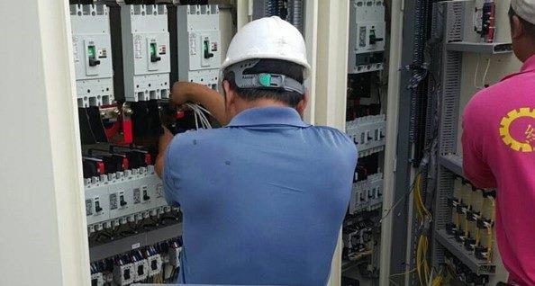 10810-北基地活動中心RF空調電盤安裝施作