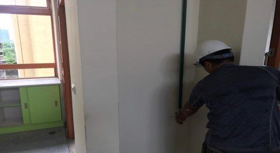 10808-南基地教一棟教室飲水機給水管配管施作