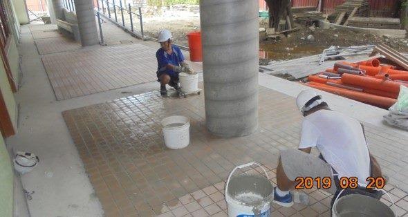 10808-北基地幼兒園走廊地磚施作