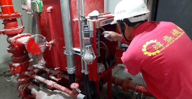 10812-北基地活動中心B1F消防泵浦結線施作
