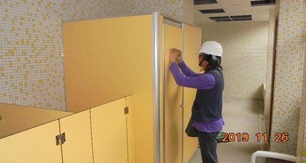 10811-北基地幼兒園1F廁所搗擺安裝施作