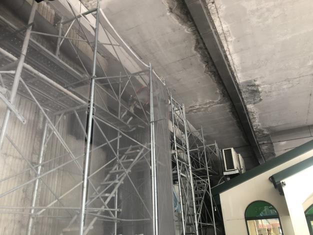 108年9月24日建國高架P55施工架搭設