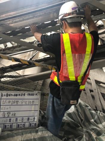 10806-電扶梯ES09調整試車
