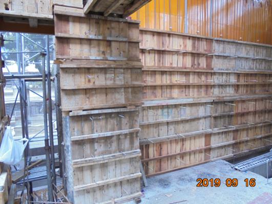 10809-綜合大樓 2FL 柱、牆模板組立