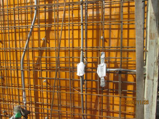 10811-綜合大樓4F牆預埋管路安裝