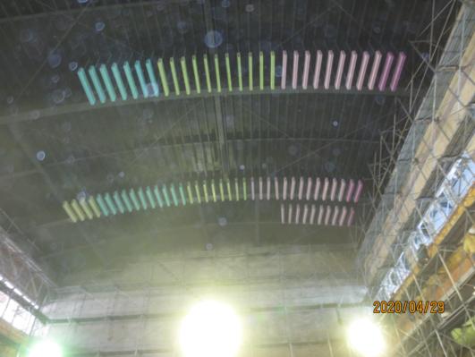 10904-綜合大樓2F 吸音障板天花施作