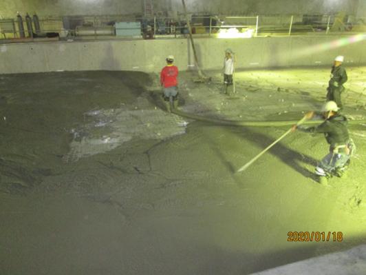 10901-綜合大樓游泳池壓層混凝土澆置
