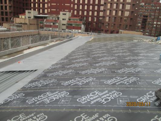 10903-綜合大樓RF 屋面金屬板施作
