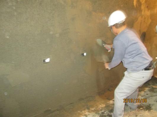 10812-綜合大樓B1FL 牆面泥作打底