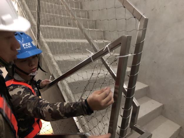 10904 樓梯金屬編織網.JPG