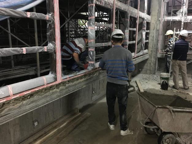 10901鋁窗安裝泥作