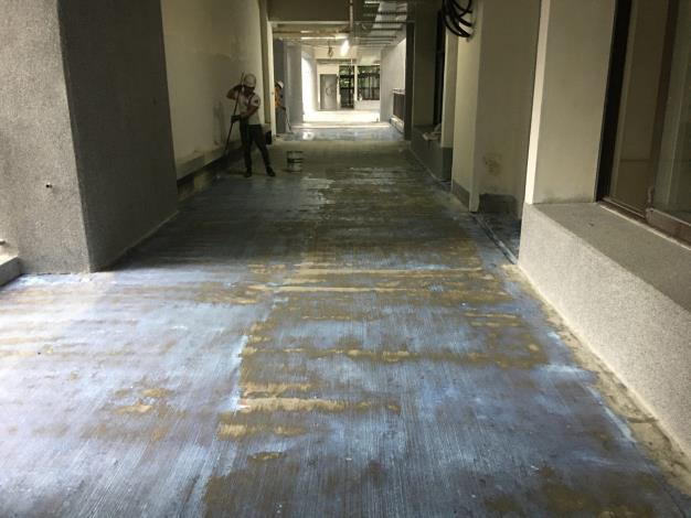 10902-B區走廊防水層施作