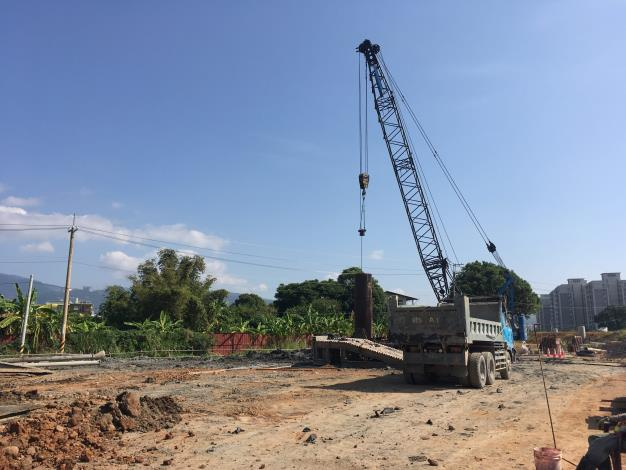 10811-PB8-A3基樁鑽掘作業