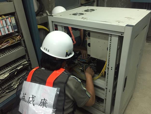 10809-大度路管道間PLC查測