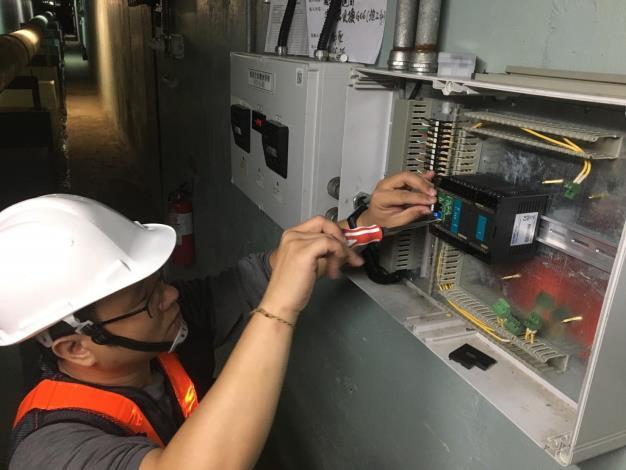 10805-南港PLC數位控制器更換施工