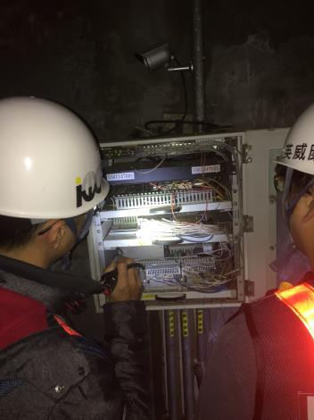 10803-東西向管道間PLC功能檢測