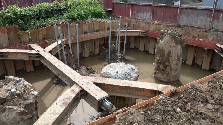 0629-施P1橋墩擋土設施及開挖